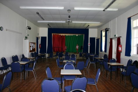 Hall Interior facing the stage